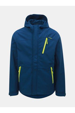 Jacheta barbateasca albastru inchis softshell impermeabila cu gluga LOAP Lombard
