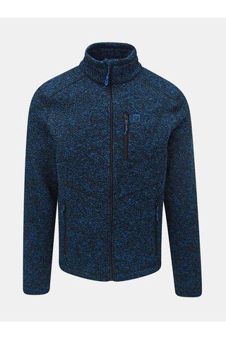 Bluza sport barbateasca albastru inchis melanj cu guler LOAP Grove