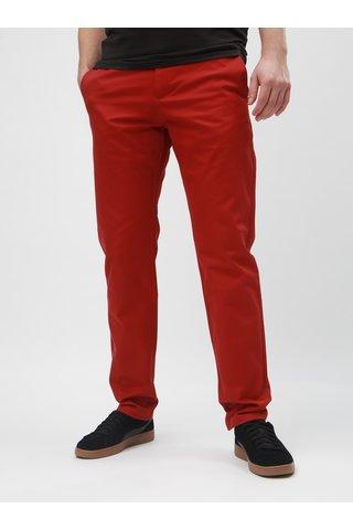 Pantaloni rosii slim Selected Homme Carlo