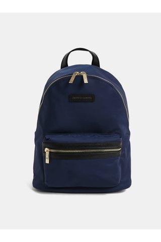 Modrý elegantní batoh Smith & Canova