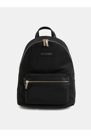 Černý elegantní batoh Smith & Canova