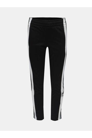 Bílo-černé klučičí tepláky s nášivkou adidas Originals