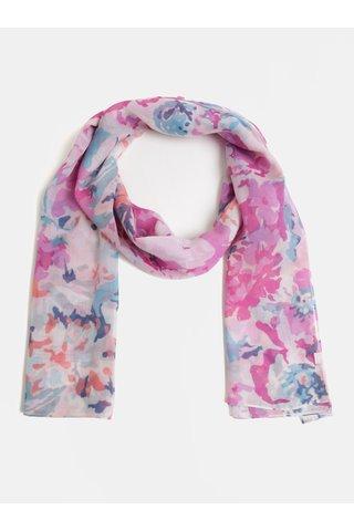 Modro-růžový dámský květovaný šátek Tom Joule