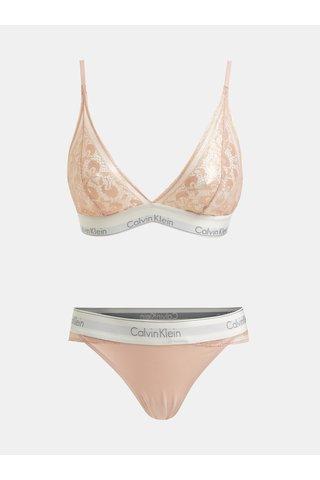 Sada podprsenky a kalhotek ve světle růžové barvě Calvin Klein Underwear