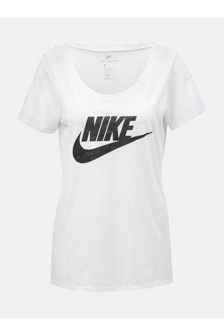 Bílé dámské tričko s potiskem Nike