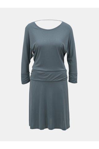 Šedé šaty s hlubokým výstřihem na zádech prAna Simone