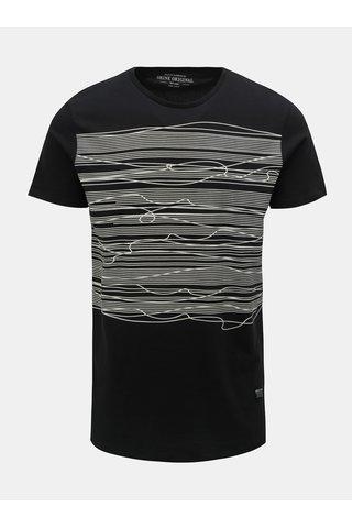 Černé tričko s potiskem Shine Original Graphic