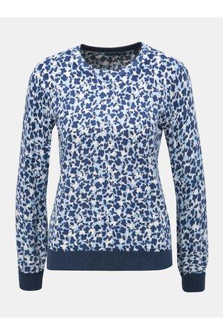 Bílo-modrý dámský vzorovaný lehký svetr GANT