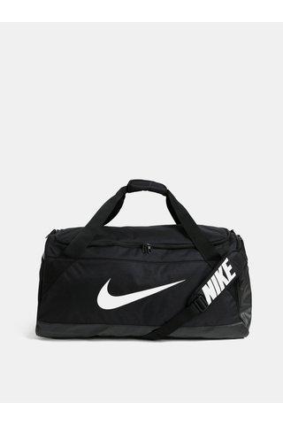 Černá cestovní taška s potiskem Nike 81 l