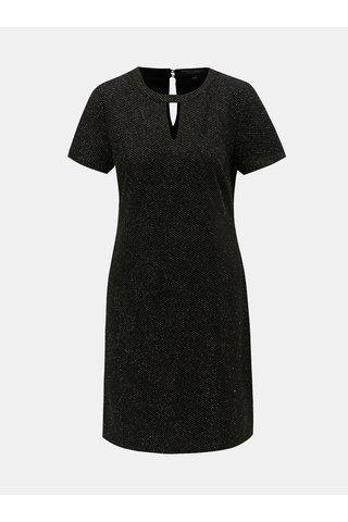 Zlato-černé šaty s průstřihy Dorothy Perkins