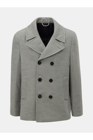 Šedý krátký kabát Burton Menswear London