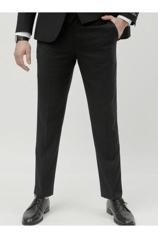 Černé oblekové slim fit kalhoty Burton Menswear London