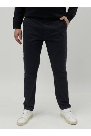 Tmavě modré tapered chino kalhoty Burton Menswear London