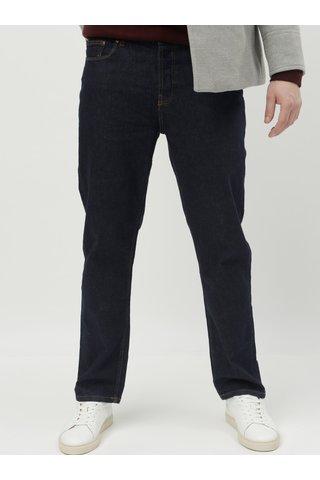 Tmavě modré straight džíny Burton Menswear London