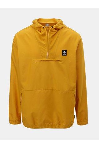 Oranžová pánská anorak bunda adidas Originals