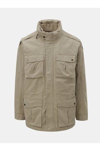 Béžová pánská bunda s odnímatelnou vestou 2v1 BUSHMAN Wolf