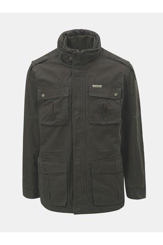 Khaki pánská bunda s odnímatelnou vestou 2v1 BUSHMAN Wolf