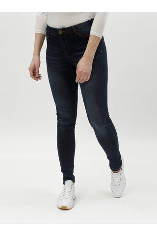 Modré skinny džíny Desigual Kentya