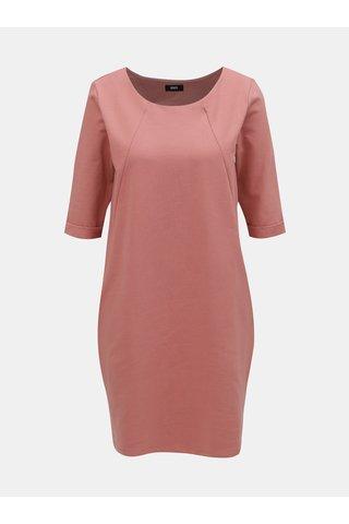 Starorůžové volné šaty s kapsami ZOOT