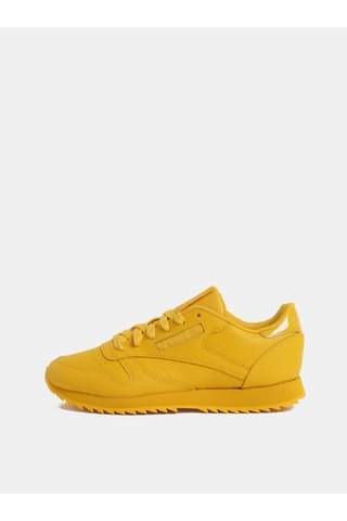 Žluté dámské kožené tenisky Reebok Ripple