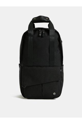 Černý nepromokavý batoh s odnímatelnou vnitřní taškou na notebook 2v1 PKG 12 l