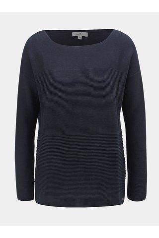 Tmavě modrý dámský volný svetr Tom Tailor