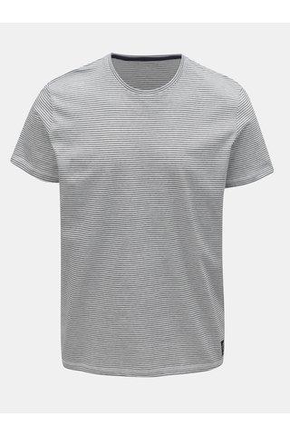 Modro-bílé pánské pruhované tričko Tom Tailor