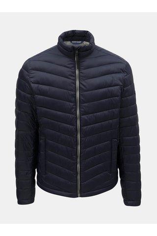 Tmavě modrá pánská prošívaná bunda Tom Tailor