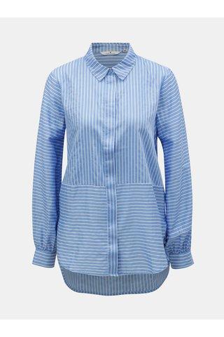 Bílo-modrá dámská pruhovaná košile Tom Tailor