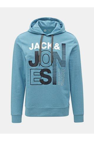 Modrá mikina s potiskem Jack & Jones Tilly