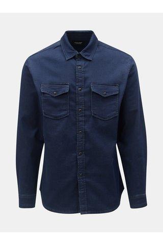 Tmavě modrá džínová košile Jack & Jones Ethan