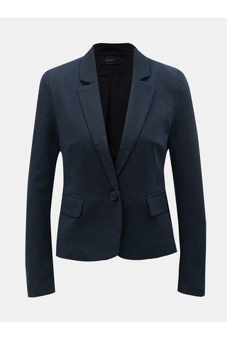 Tmavě modré sako s kapsami ONLY Kira