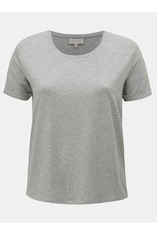 Šedé žíhané basic tričko Only Carmakoma Carma