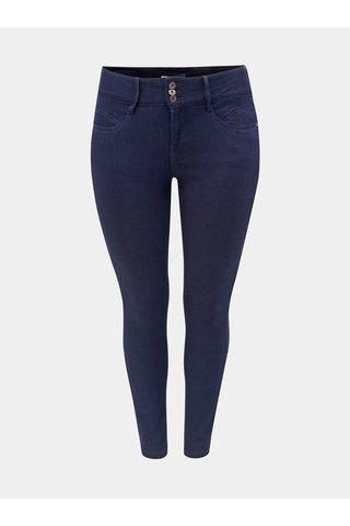 Tmavě modré skinny džíny s vysokým pasem Only Carmakoma Anna