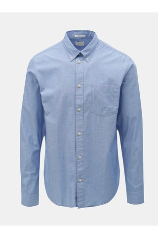 Modrá slim fit košile Selected Homme Reglandon
