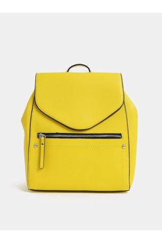 Žlutý elegantní batoh Pieces Laurel