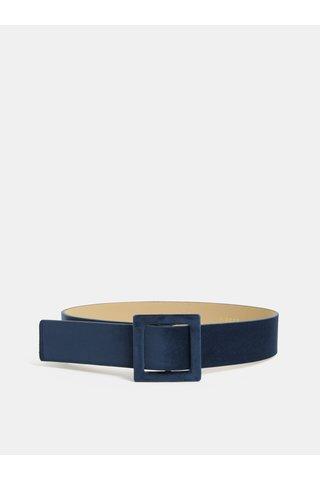 Tmavě modrý sametový pásek Pieces Brelyn