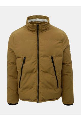 Hnědá zimní bunda Burton Menswear London