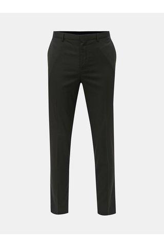 Černé slim fit oblekové kalhoty Burton Menswear London