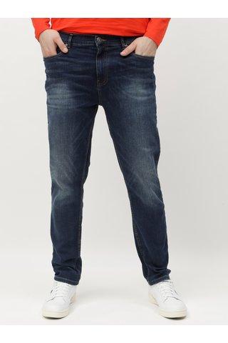 Tmavě modré tapered fit džíny Burton Menswear London