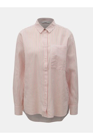 Červeno-bílá pruhovaná košile ONLY Carry
