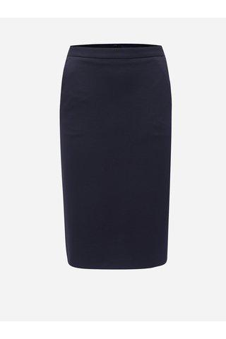 Tmavě modrá sukně s kapsami GANT