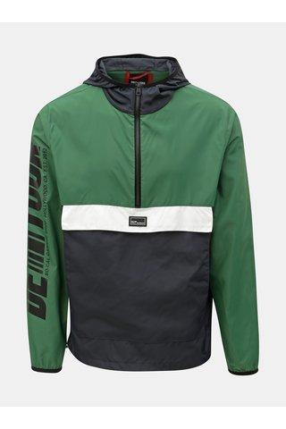 Modro-zelená anorak bunda ONLY & SONS Wayne