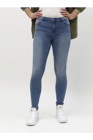 Modré push up slim fit džíny VERO MODA Seven