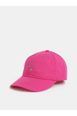 Tmavě růžová dámská kšiltovka GANT