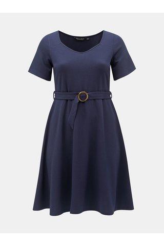 Tmavě modré šaty Dorothy Perkins Curve