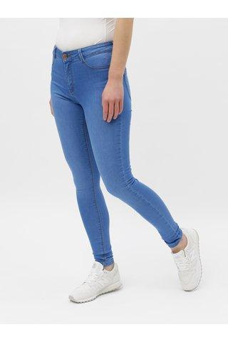 Modré super skinny fit džíny Dorothy Perkins Frankie
