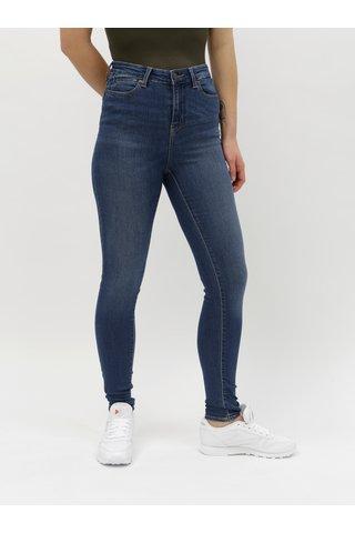 Modré skinny džíny Noisy May Lexi