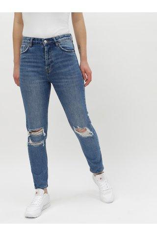 Modré mom džíny s vysokým pasem TALLY WEiJL Momid