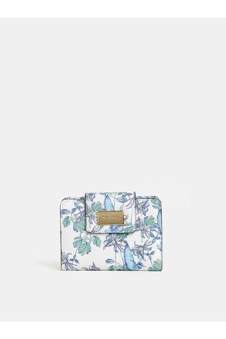 Bílá květovaná peněženka Bessie London